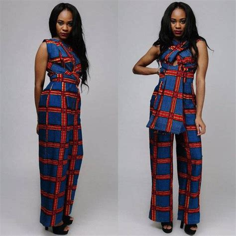 jumpsuit with ankara 50 pictures of the latest ankara jumpsuit styles in 2017