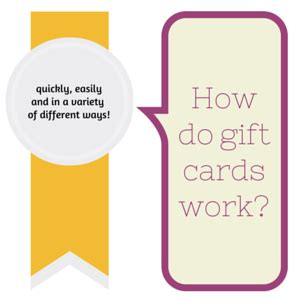 How Does A Gift Card Work - how do gift cards work c a r e symbol
