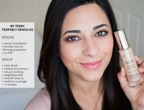 by terry terrybly densiliss wrinkle control serum foundation 85 by terry terrybly densiliss foundation review before and