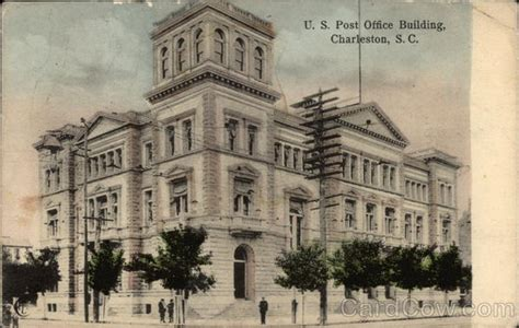 Us Post Office Charleston Sc by U S Post Office Building Charleston Sc