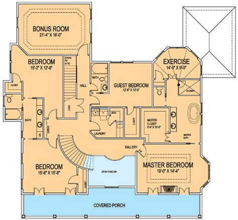 new orleans floor plans new orleans house plan 30044rt 2nd floor master suite bonus room butler walk in pantry