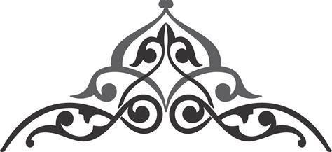 Dres Ukir cara membuat ornamen hiasan pinggir kaligrafi suryalaya