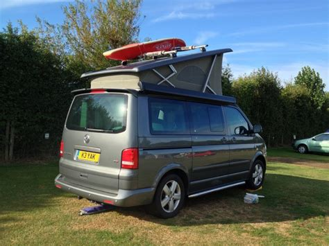 Vw California Roof Rack load canoe kayak on to the roof of vw california
