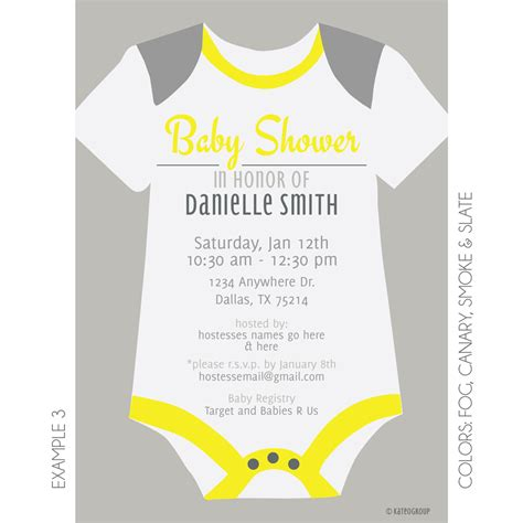 onesie invitation template onesie baby shower invitations afoodaffair me