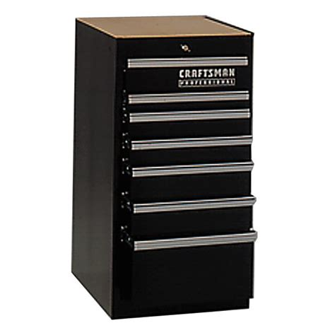 Craftsman Side Cabinet by Craftsman Professional 7 Drawer Side Cabinet 18 In Wide