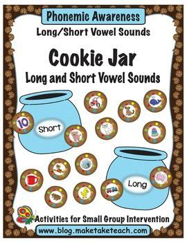 cookie jar long and short vowel sounds