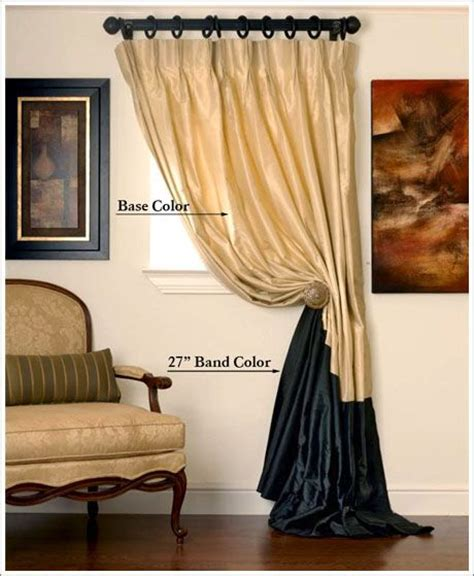Style Guide The Belt Drape by Banding Guide Drapery Panels With Style