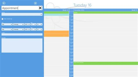 What Calendar Is On Windows 8 Onecalendar Launches For Windows 8 One Of The Best