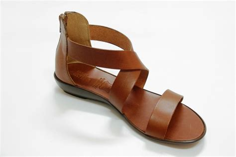 brown sandals brown leather sandals