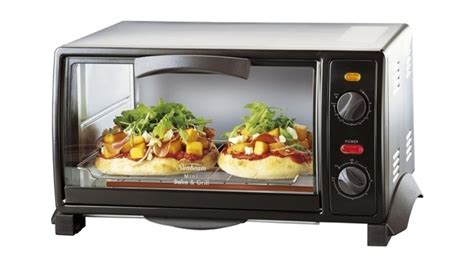 buy sunbeam mini bake grill compact oven harvey norman au