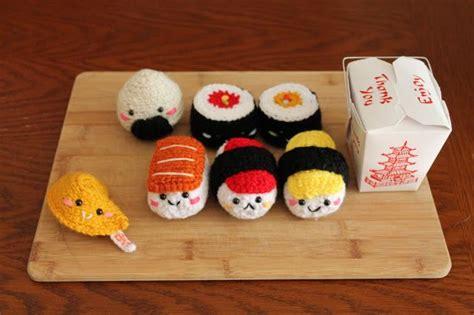 amigurumi sushi pattern amigurumi food sushi amigurumi food crochet