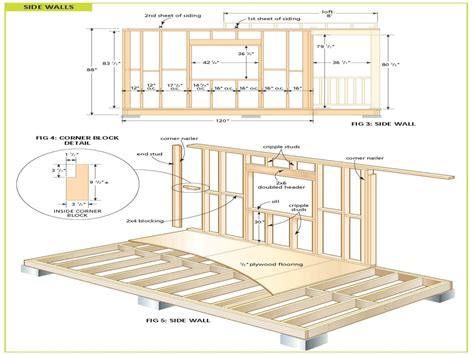 cottage floor plans free wood cabin plans free diy shed plans free cottage bunkie plans mexzhouse