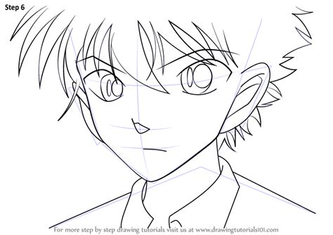 A Anime Drawing by Learn How To Draw Kaito Kuroba From Magic Kaito Magic