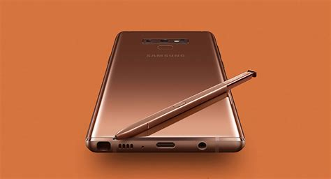 samsung galaxy note 9 specs official techgreatest