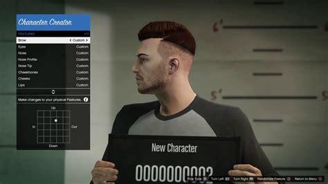 male hair on gta 5 gta v character creation part 2 male youtube
