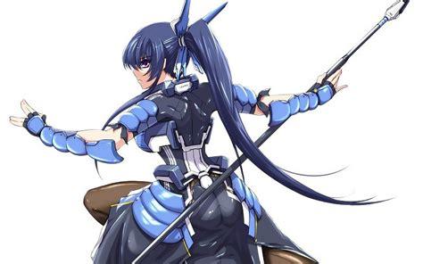 anime armor girl wallpaper weapons armor anime spears soft shading anime girls