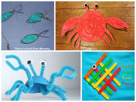 animal crafts 20 adorable sea animal crafts for there s just one