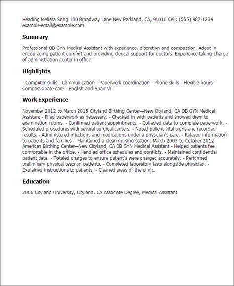 job description for medical assistant free lead medical assistant