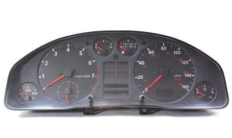 gauge cluster speedometer   audi   genuine