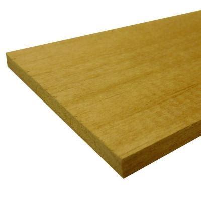 mdf bender board common 1 4 in x 3 3 4 in x 97 in