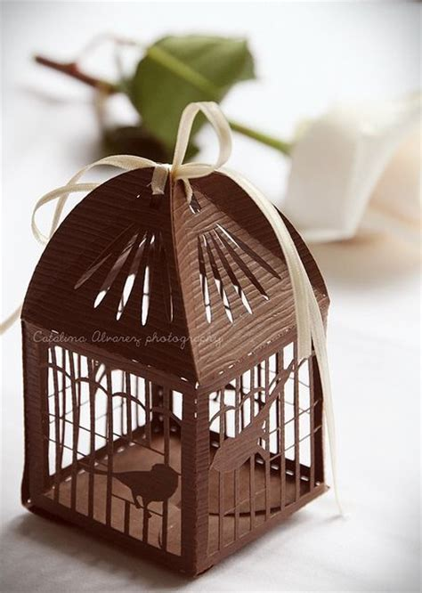 paper bird cage craft paper cage must make laser cut