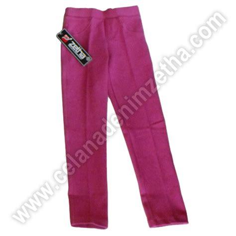 Celana Zetha celana zetha denim anak warna pink sedang celana denim zetha