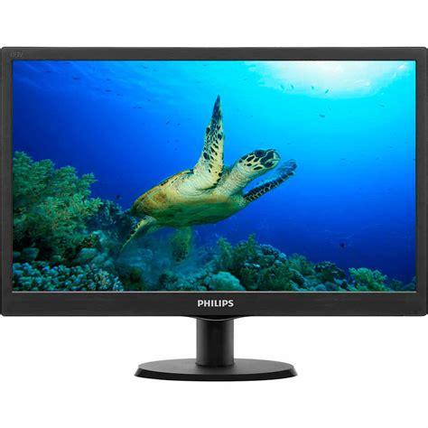Monitor Philips 18 5 193vslhsb Hdmi monitor led 18 5 quot widescreen philips 193v5lhsb2 hd preto