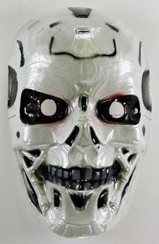 vintage terminator   model  halloween mask