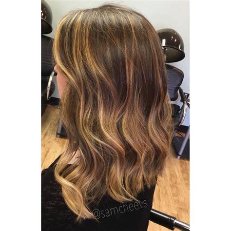 honey highlights for dark brown hair on inverted bob honey blonde highlights for brown hair long bob hair cut