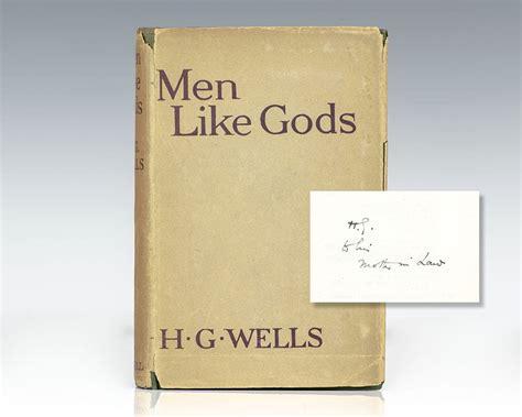 Men Like Gods H G Wells First Edition