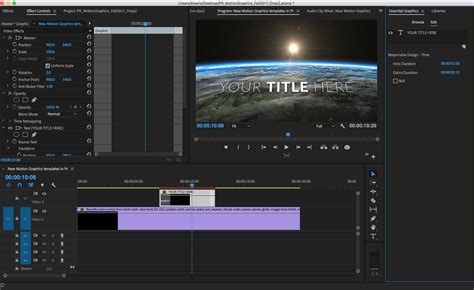 New Motion Graphics Templates Push The Creative Boundaries Of Premiere Pro Creative Cloud Blog Premiere Pro News Template