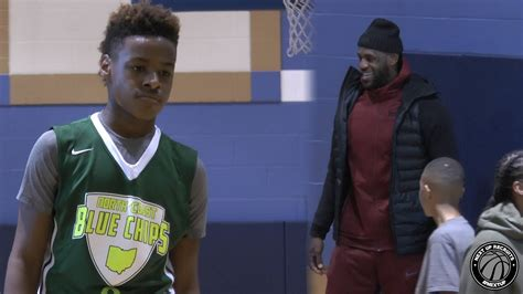 Lebron Jr Also Search For Lebron Jr Shows High Iq With King