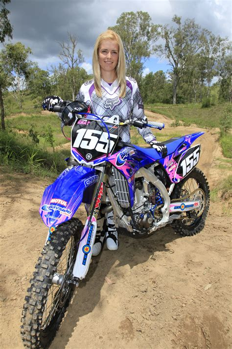 girls motocross motocross senior picture yamaha girls dominate at qld go