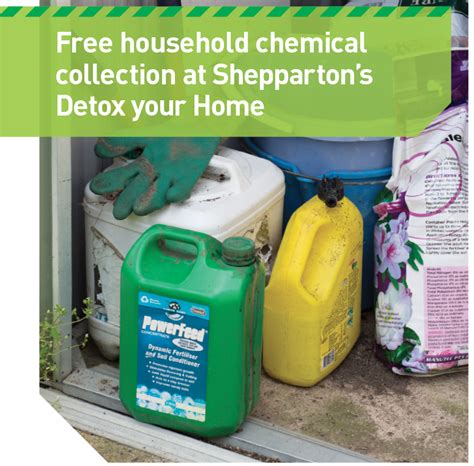 Chemical Detox At Home by Chemical Disposal Greater Shepparton City Council
