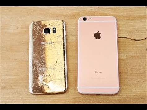 iphone 6s plus beter dan galaxy s7 edge droptest