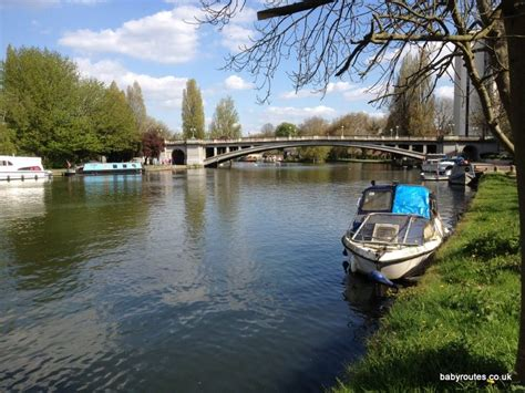 thames river reading reading to tilehurst thames path walk baby routes