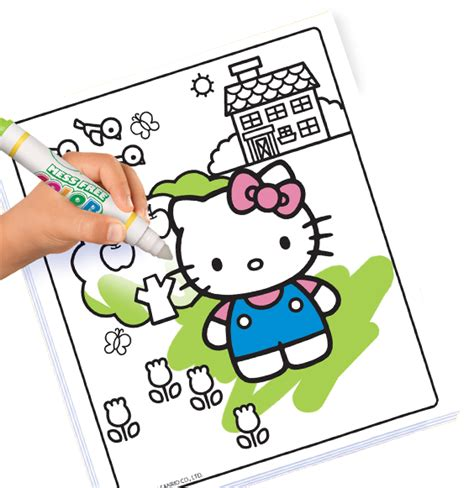 crayola giant coloring pages hello kitty spring2 crayola com