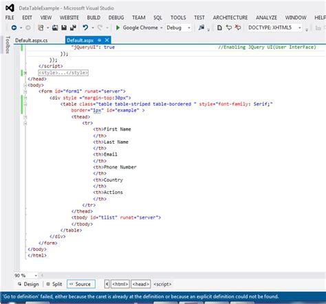html design in asp net jquery datatable paging sorting searching in asp net