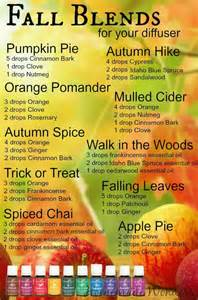 fall scents fall diffuser blends homemade wonders