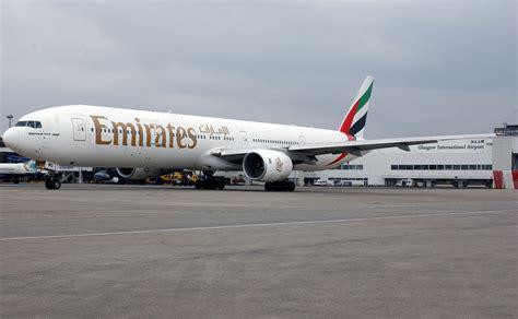 emirates glasgow to dubai emirates ups glasgow space fbj