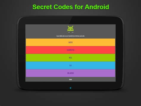 secret app android secret codes for android android apps on play