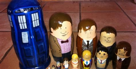 doctor who christmas diy diy doctor who nesting dolls set perhaps best gift so far slashgear