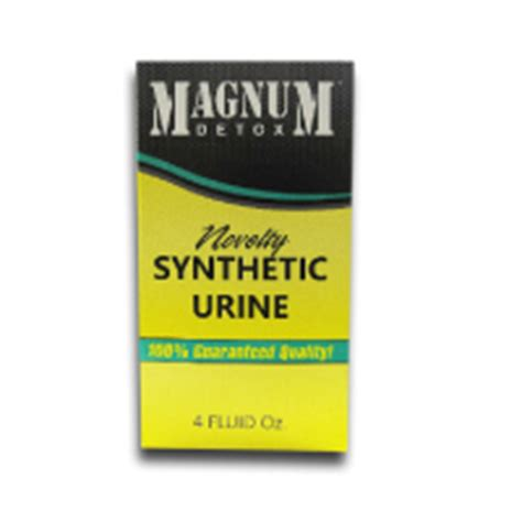 Detox Or Synthetic Urine by Magnum Synthetic Urine 4oz