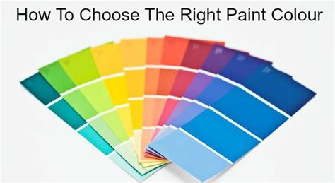 how to choose paint how to choose the right paint colour tradesmen ie