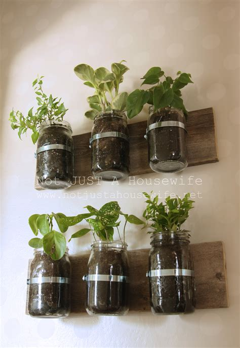 Jar Herb Planter by Jar Planter Update Risenmay