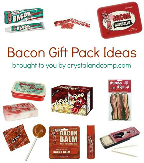 bacon gift ideas gift ftempo