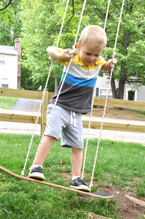 diy kids swing skateboard swing upcycle that