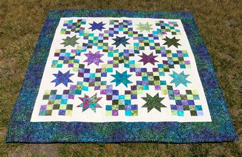 batik patchwork pattern batik star lap quilt patchwork batik quilt by