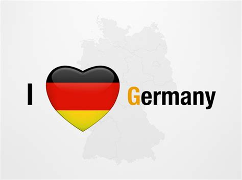 I Love Germany Powerpoint Map Slides I Love Germany Map Ppt Slides Powerpoint Map Slides Of I Germany Powerpoint Template