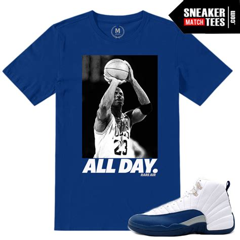 Jordan Relase Dates April 2016 | French Blue 12 | Sneaker ... Jordan 12 French Blue Shirt
